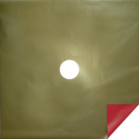 Bi-Color Sheet 24x24 in red/gold - Colombia only