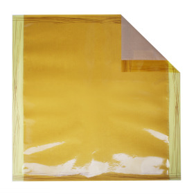 Sheet Chocolate 70x70cm yellow