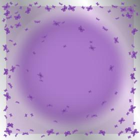 Sheet Papillon 50x50cm purple