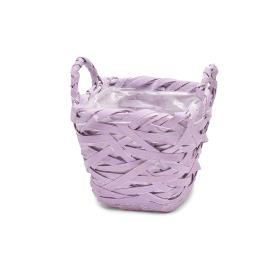 Basket Tess 15x15 H14cm lilac