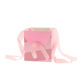 Draagtas Muse 16x16x18cm FSC Mix roze