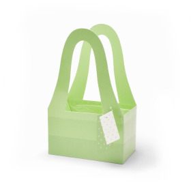 Carrybag Fashion 20/11.5x32.5cm green