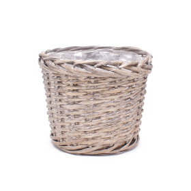 Willow basket pot Ø18cm