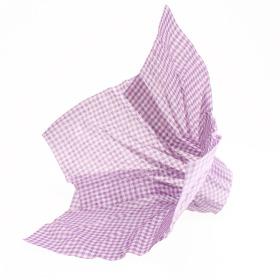 Bouquet holder Nonwoven Squares 25cm lilac