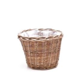 Basket 25cm H20cm brown