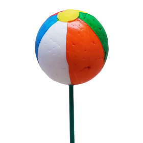 Beach Ball Ø 2.5in on 20in stick