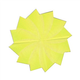 Sheet Carrousel Ø80cm yellow