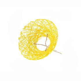 Bouquet holder Paperweb Ø20cm yellow