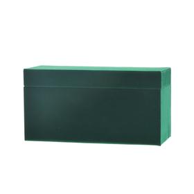 Geschenkdoos Velvet Jewelry 22,5x9,5x11,5cm groen