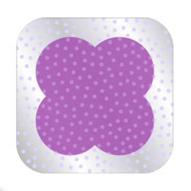 Dots Sheet 24x24 in lilac