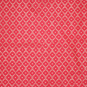 Sheet Satin Shadai 47x47cm red