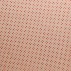 Sheet Organza Metallic Dots 40x40cm orange