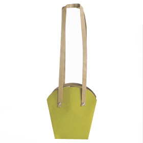 Plantcarrier Carton 12cm yellow