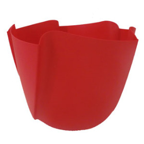 Twister Pot 6in red - Colombia only