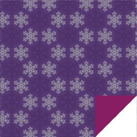 Frost Sheet 24x24in purple