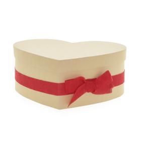 Hat box AiLove 20x25x10cm red