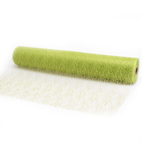 Roll Lace 50cm x 25m lime green