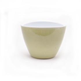 Pot Sofie Oval 20x15x15cm lime green