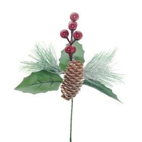 X-mas Berry 12cm on 10cm stick