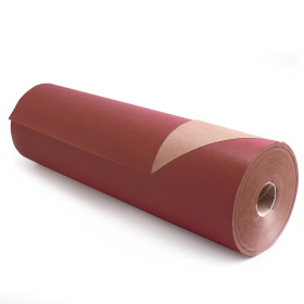 Kilo Brown Kraft 50cm/50g. on roll burgundy p/kg