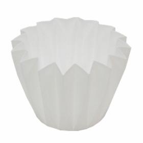 CUPCAKE CONTAINER 11 CM WHITE
