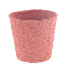 """Paper Pulp Pot Carta 4"""" red"""