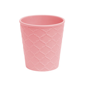 Ceramic Pot Harmony 6 in pink glossy