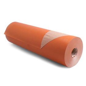 Roll Brown Kraftpaper 60cm/50g. FSC Mix 70% orange