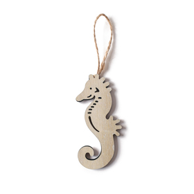 Sea horse June 8cm white
