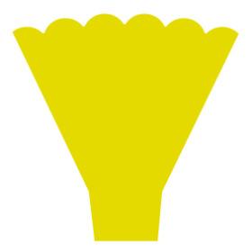 Sleeve Maxima 54x44x12cm yellow