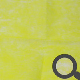 Sheet Nonwoven 30x30cm yellow