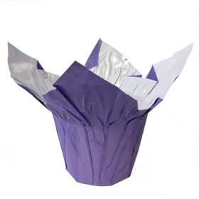 "Cover-Up© White Kraft 8"" purple"