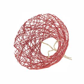 Bouquet holder Paperweb Ø25cm red