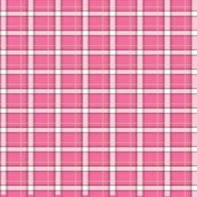 NONWOVEN PLAID20X28 IN + X LIGHT PINK