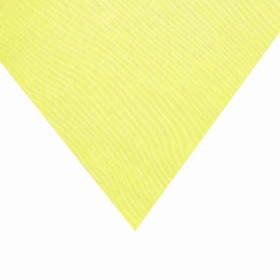Organza 20x28 in yellow with 3 in hole
