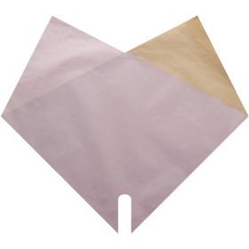 Sleeve Doublé Kraft 40x40cm lilac
