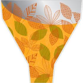Vermont 21x17x5in orange