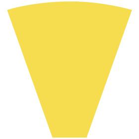 Sleeve Alexia 50x44x12cm yellow