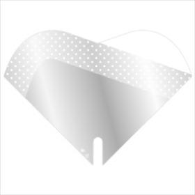 Sleeve Doublé Jessy 35x35cm white