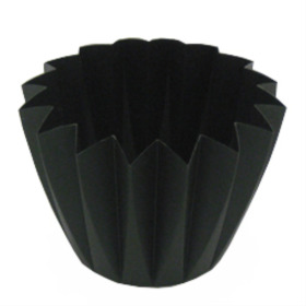 Cupcake container 5.5 in black