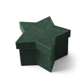 Hat box Noëlle 16x10,5x9cm groen