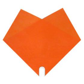 Sleeve Doublé Uni 35x35cm orange