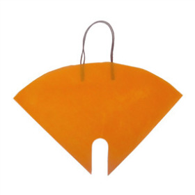 Flowerbag Nonwoven orange 16x16 in