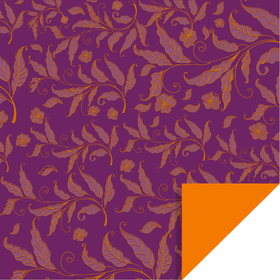 Fall Elegance 24x24 in purple