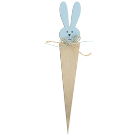 Bunny Dolly 25.5cm FSC Mix blue