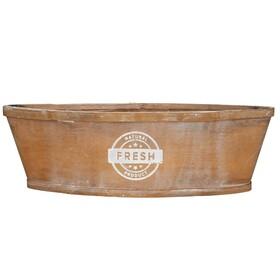 Wooden planter Boat 37x13xH11cm