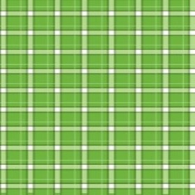 Nonwoven Plaid green 20x28 in with x
