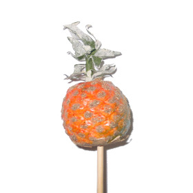 Fruit Pineapple 2.5 in on 20 in stick