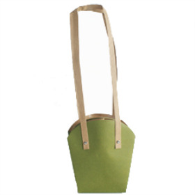 PLANTCARRIER CARDBOARD 3.5 IN GREEN