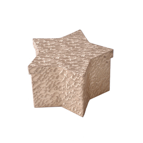 Hat box Evelyn 16x10.5x9cm goud